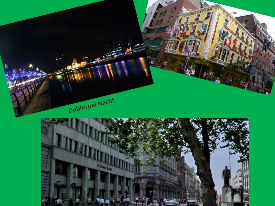 Das gesamte Verkehrssystem Irlands ist auf Dublin ausgerichtet.