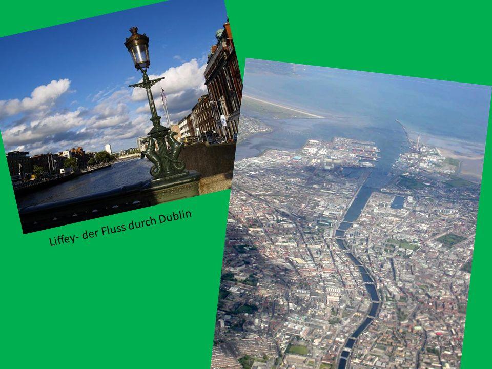 Stadtmarkt in Dublin Dublin ist die Hauptstadt und größte Stadt der Republik Irland. Der irische Name ist Baile Átha Cliath. Die deutsche Übersetzung