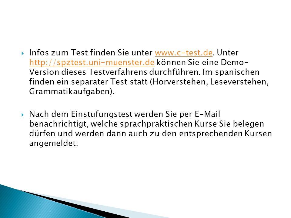  Infos zum Test finden Sie unter www.c-test.de.