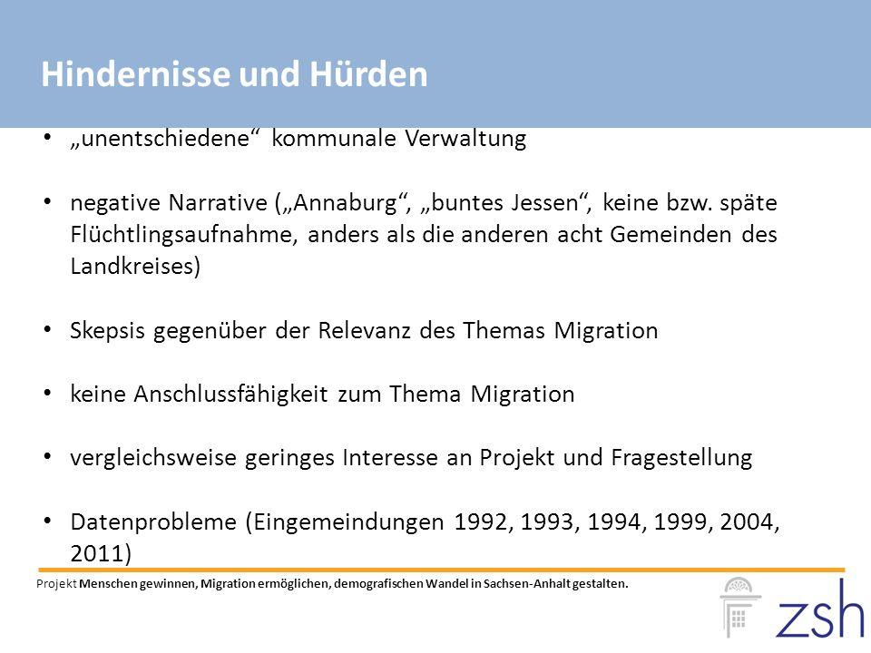 """""""unentschiedene kommunale Verwaltung negative Narrative (""""Annaburg , """"buntes Jessen , keine bzw."""