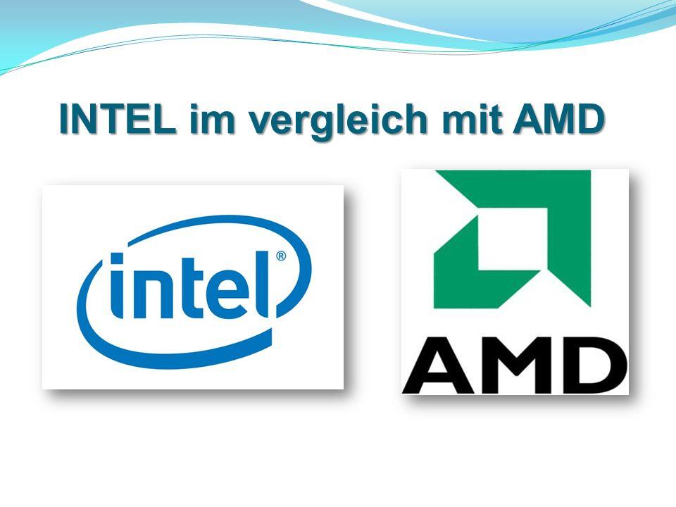 INTEL im vergleich mit AMD