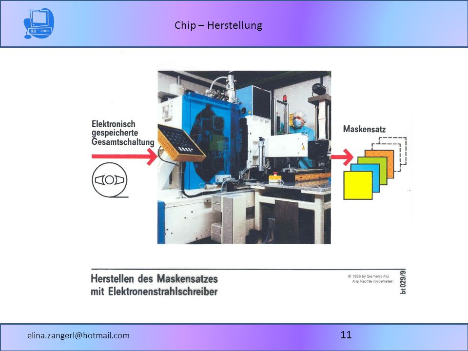 Chip – Herstellung elina.zangerl@hotmail.com 11