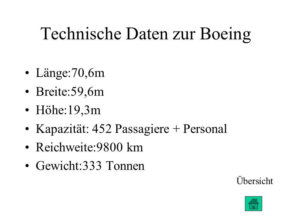 Der Vergleich Größer Mehr Kapazität Leichter größere Reichweite Geringere Anschaffungskosten Airbus A380 Boeing 747 Übersicht