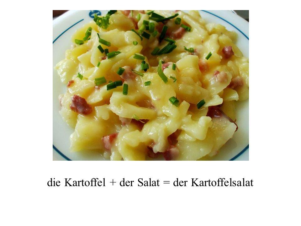 Zusammengesetzte Nomen das Nomen = noun zusammengesetzt = assembled into a unit die Regel = rule Die deutsche Sprache liebt zusammengesetzte Nomen!!