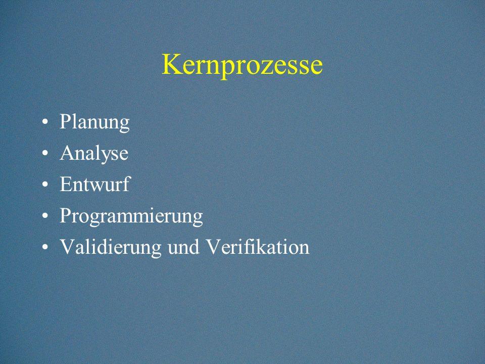 Projektmanagement Projektplanung Risikomanagemnent Projektsteuerung