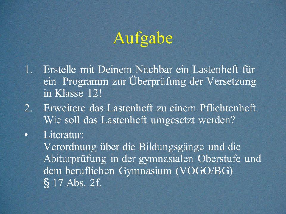 Anweisungssprachen (1)