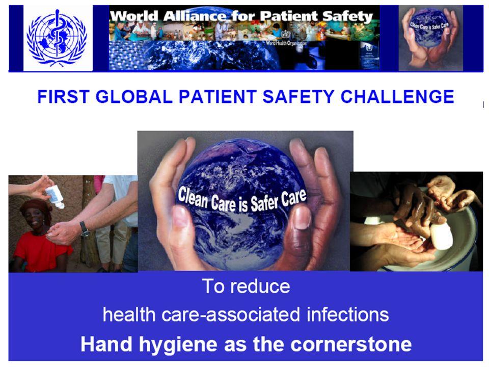 Wann sollte eine Händedesinfektion erfolgen.