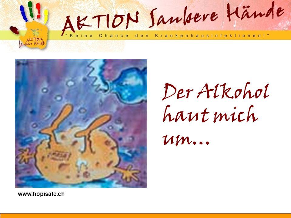 Der Alkohol haut mich um… www.hopisafe.ch
