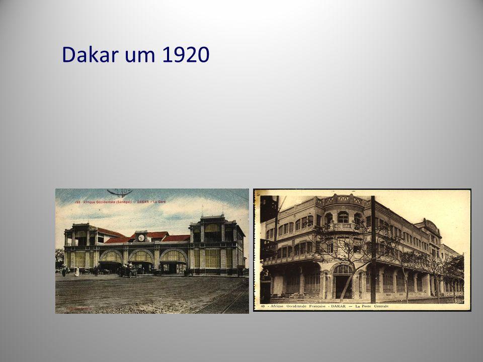 Dakar um 1920