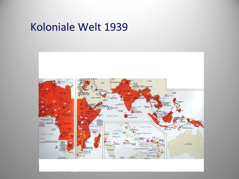 Koloniale Welt 1939