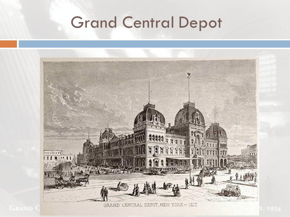  Planung eines Hochhausen über Grand Central Terminal  Abriss der Empfangshalle  Entscheidung vor dem obersten Bundesgericht  Erhalt des Terminal Der Abriss droht