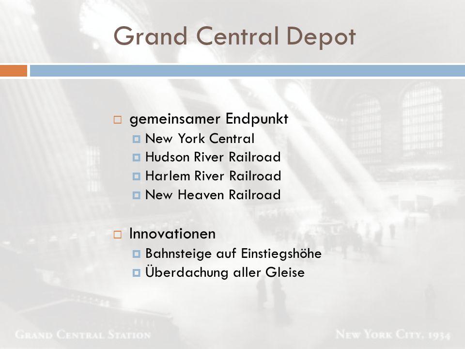 Bahnhöfe  Schmale grüne Treppenabgänge  Fahrscheinautomaten und Sperren führen:  direkt zum Gleis  Verteilerebene