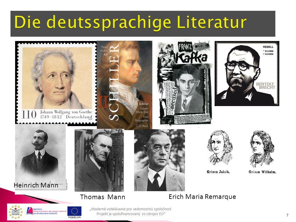 7 Heinrich Mann Thomas Mann Erich Maria Remarque