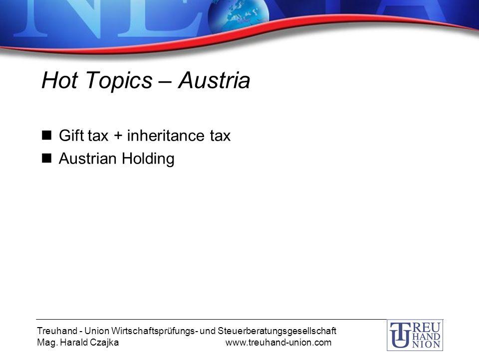 Treuhand - Union Wirtschaftsprüfungs- und Steuerberatungsgesellschaft Mag.