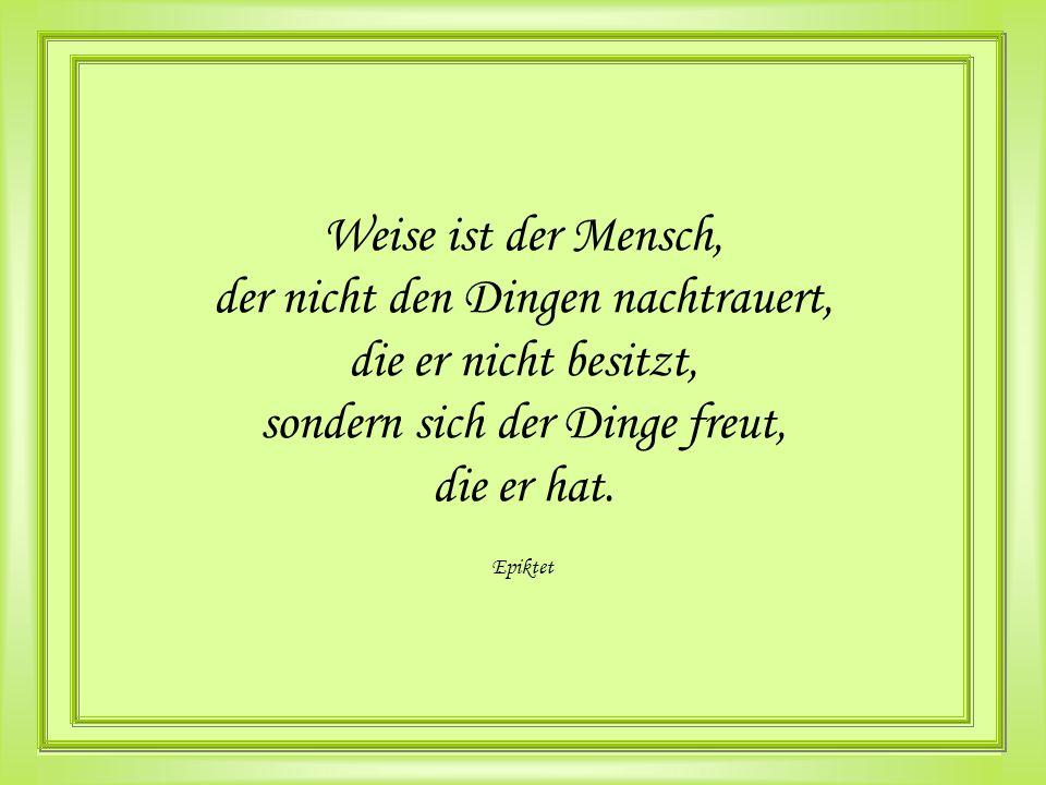 GLÜCK macht Mut Johann Wolfgang von Goethe