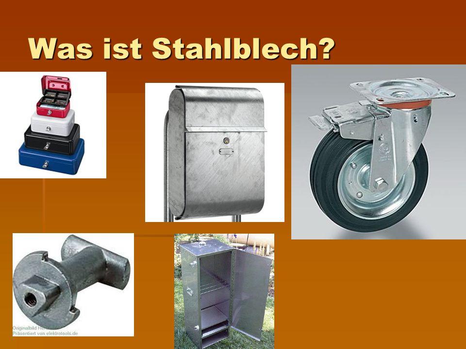 Was ist Stahlblech?
