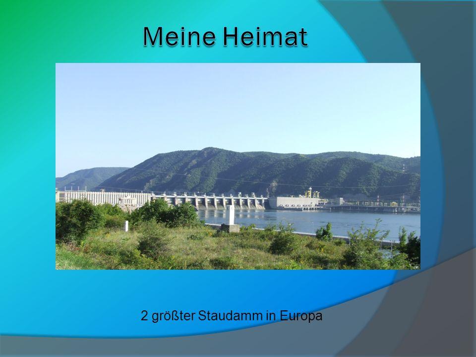 2 größter Staudamm in Europa