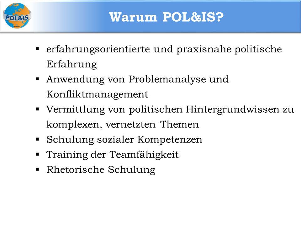 Warum POL&IS.