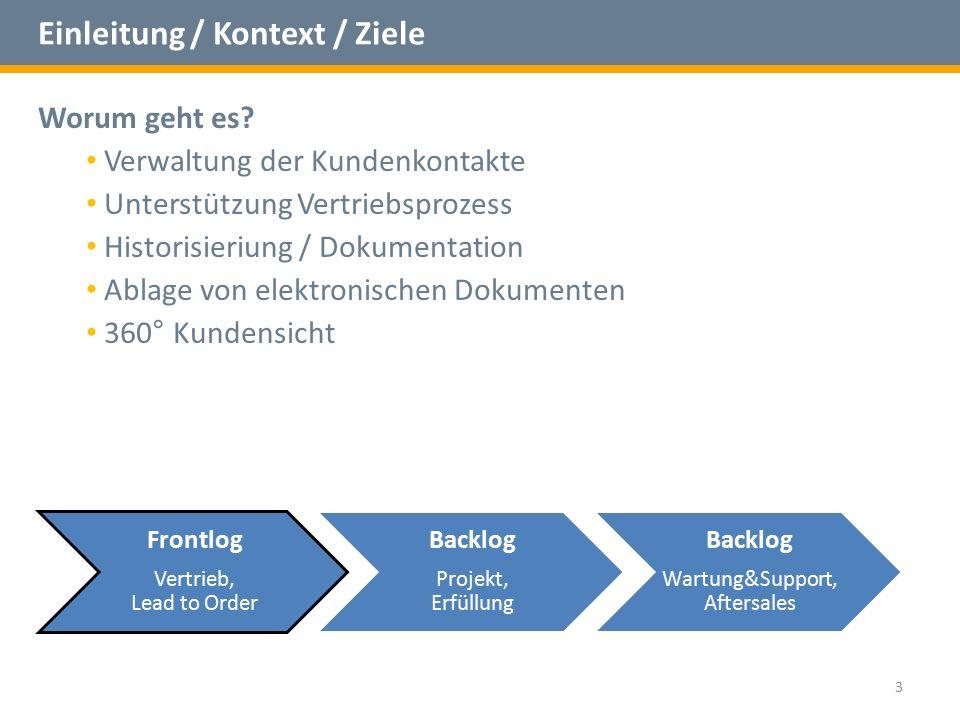 Einleitung / Kontext / Ziele Kontextdiagramm 4