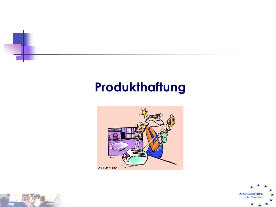 Produkthaftung