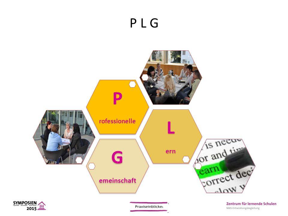 P L G G emeinschaft L ern P rofessionelle