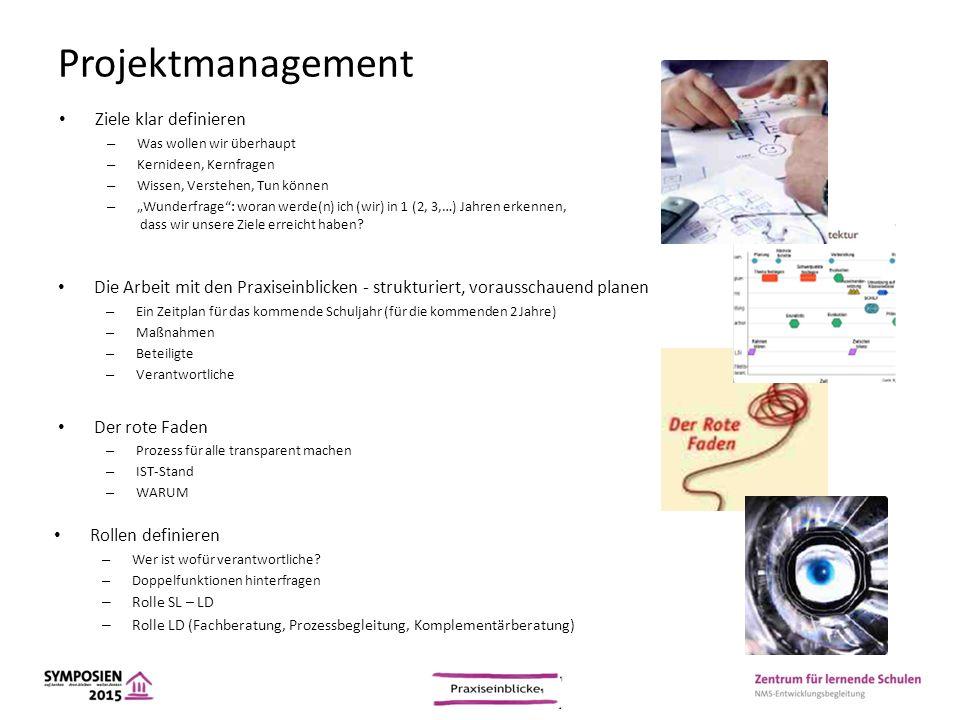 """Projektmanagement Ziele klar definieren – Was wollen wir überhaupt – Kernideen, Kernfragen – Wissen, Verstehen, Tun können – """"Wunderfrage"""": woran werd"""