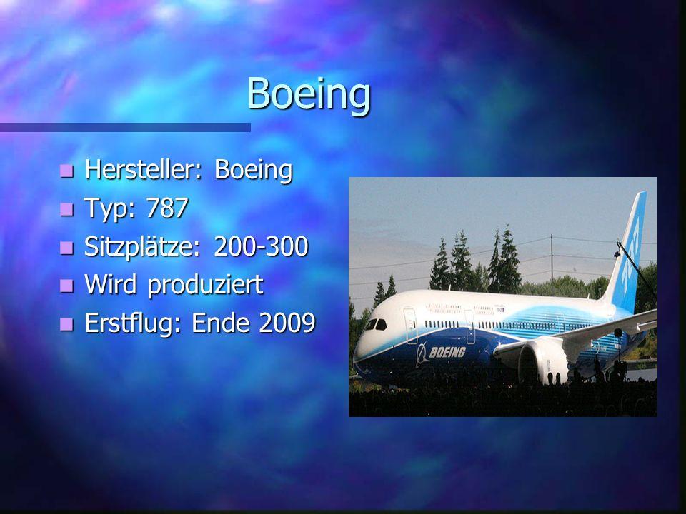McDonnell Douglas Hersteller: McDonnell Douglas Typ: MD-12 Sitzplätze: über 500 Wurde aber nie gebaut.