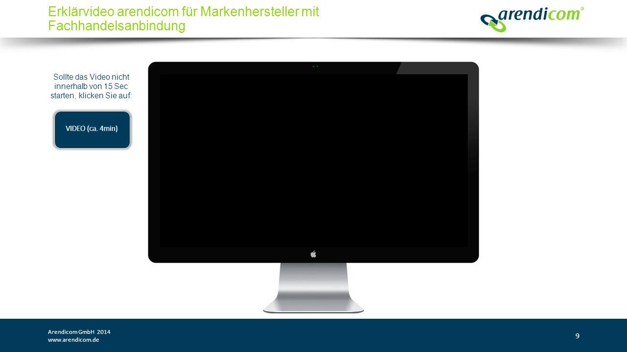 Arendicom GmbH 2014 www.arendicom.de 20