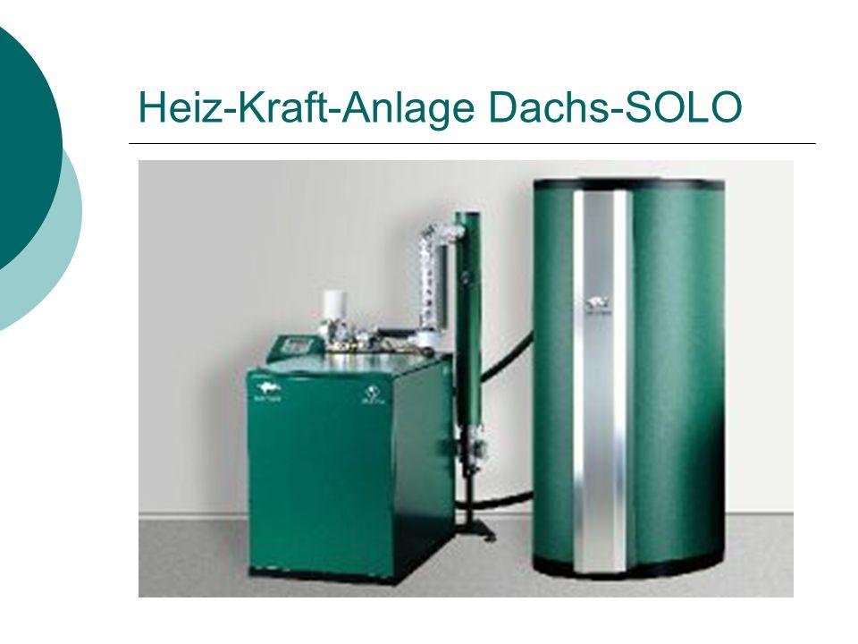 Heiz-Kraft-Anlage Dachs-SOLO