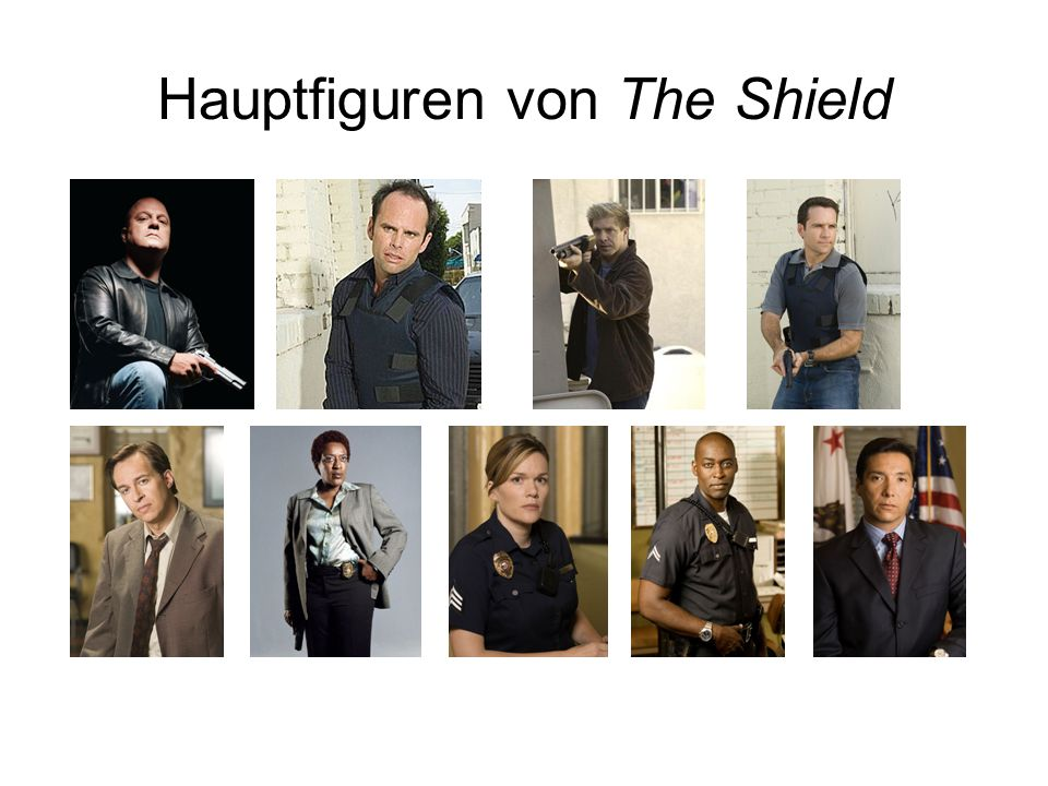 Hauptfiguren von The Shield