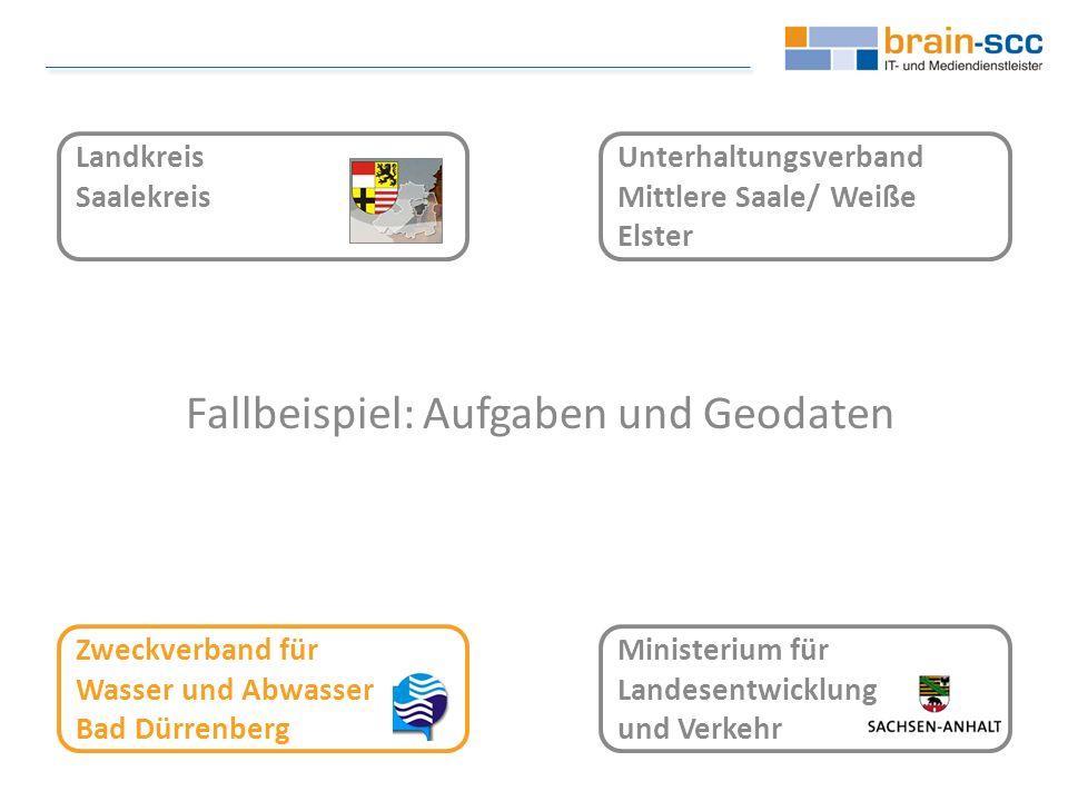 Zweckverband für Wasser und Abwasser Bad Dürrenberg Aufgaben und Geodaten