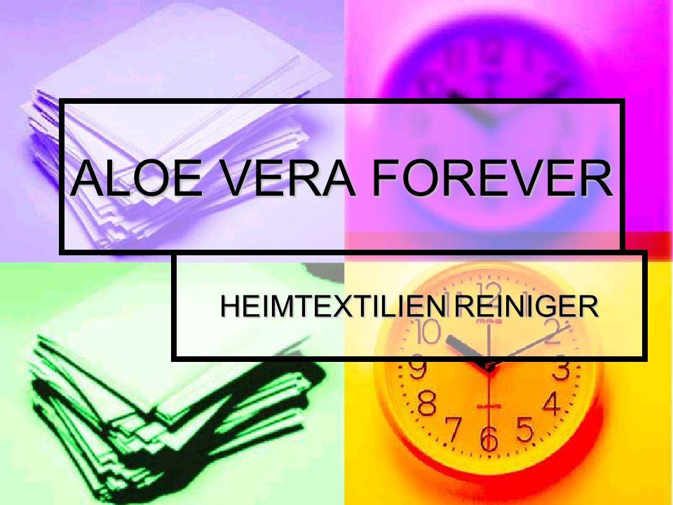 ALOE VERA FOREVER HEIMTEXTILIEN REINIGER