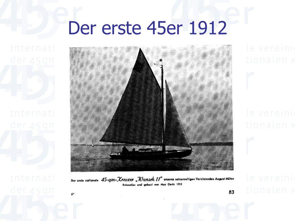 Der erste 45er 1912