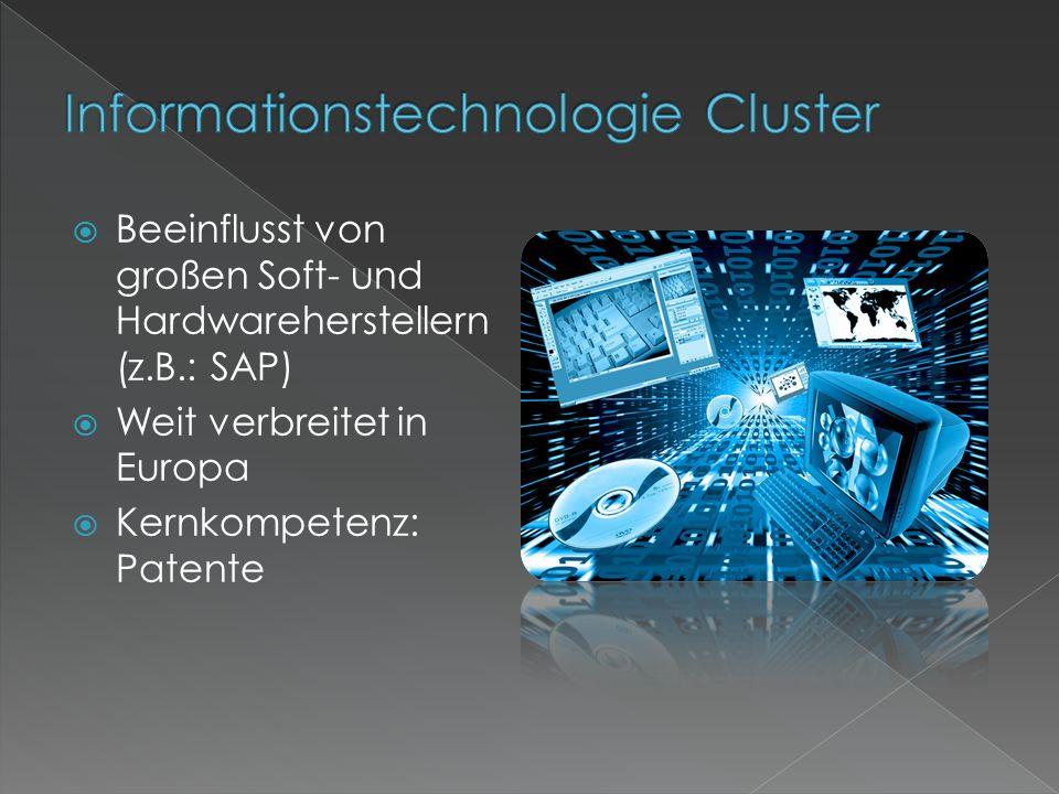  Beeinflusst von großen Soft- und Hardwareherstellern (z.B.: SAP)  Weit verbreitet in Europa  Kernkompetenz: Patente