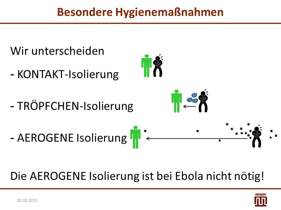 Eingangsscreening: Voraussetzungen Ein ausgewiesener Bereich, um die Patienten am Eingang zu screenen  Dabei immer einen Abstand von > 2m einhalten.