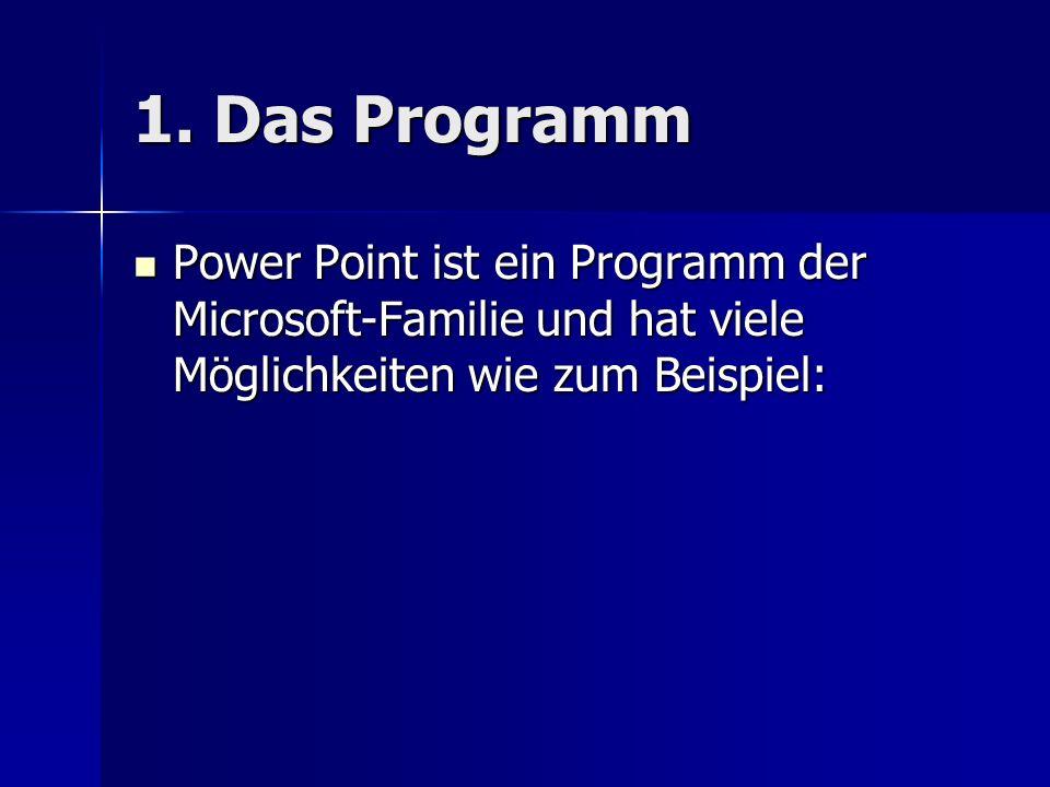 Power Point Wie man Präsentationen erstellt