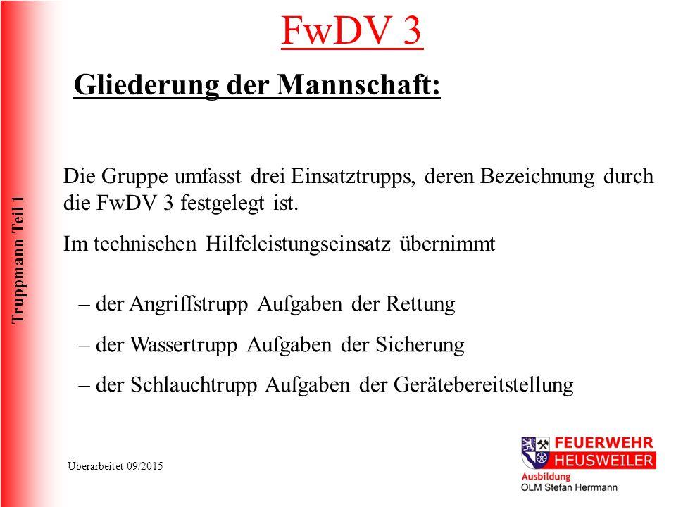 Truppmann Teil 1 Überarbeitet 09/2015 Schneidgerät S 30 Technische Daten Öffnungsweite Max.