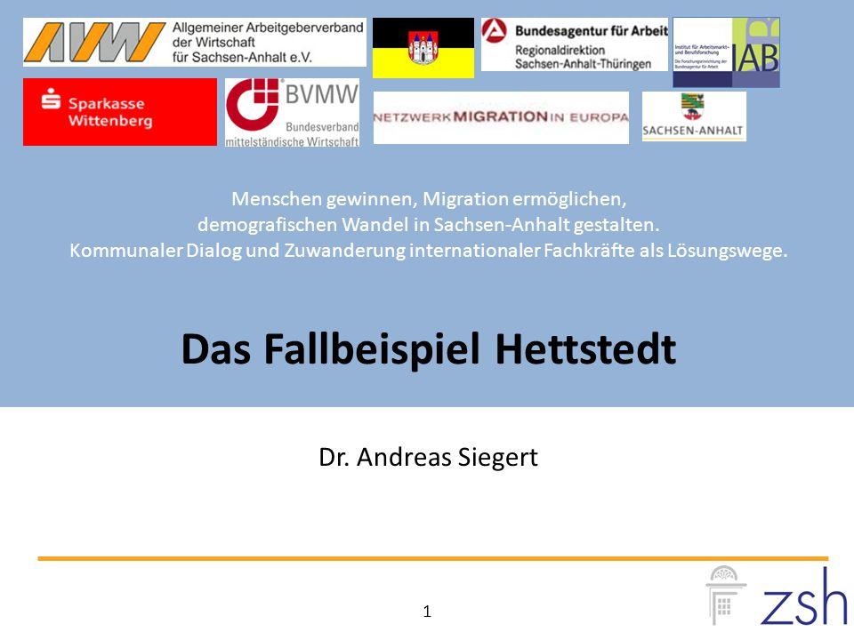 Menschen gewinnen, Migration ermöglichen, demografischen Wandel in Sachsen-Anhalt gestalten.
