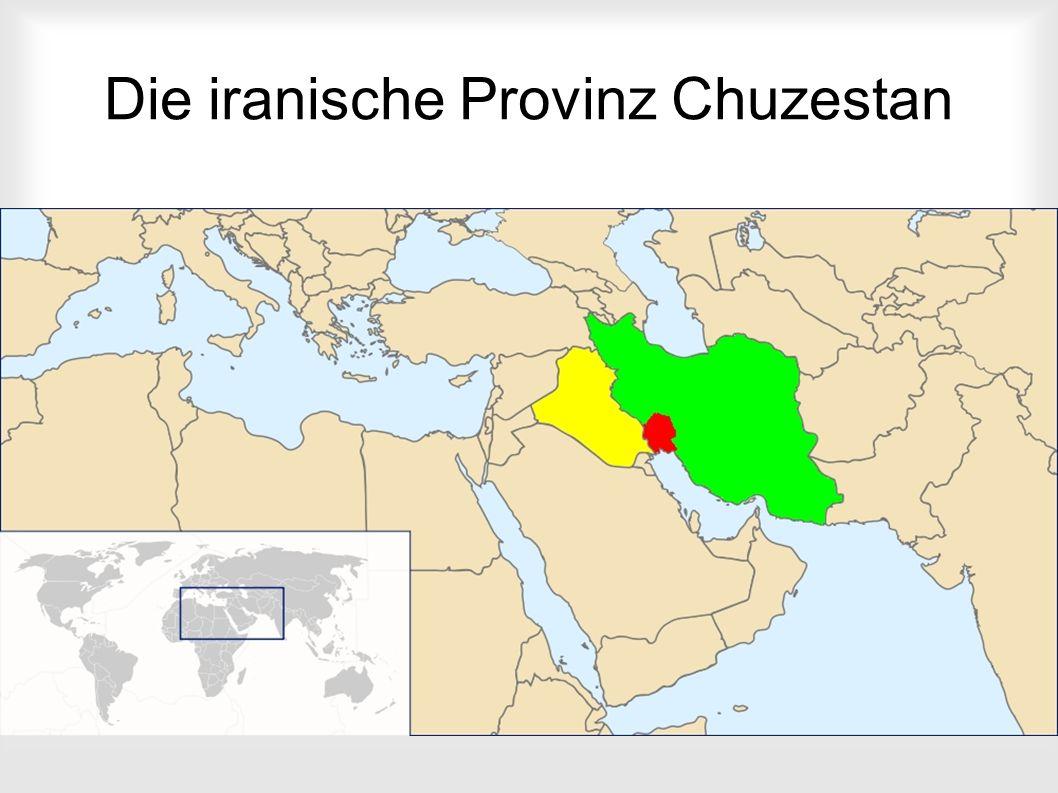 Die iranische Provinz Chuzestan