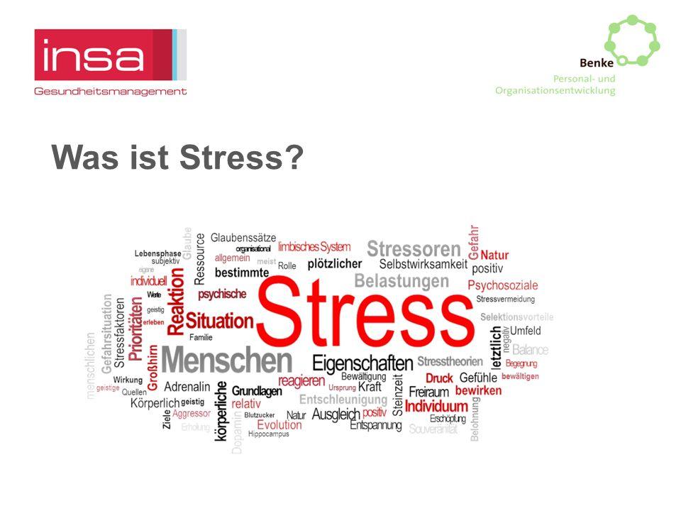 Was ist Stress?