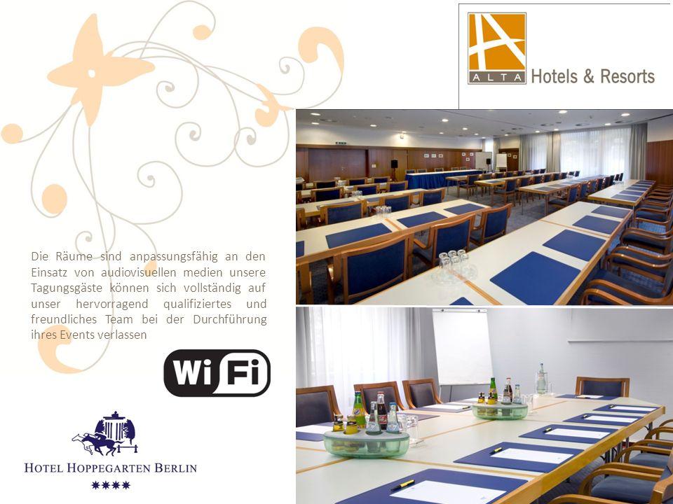 Die Räume sind anpassungsfähig an den Einsatz von audiovisuellen medien unsere Tagungsgäste können sich vollständig auf unser hervorragend qualifizier