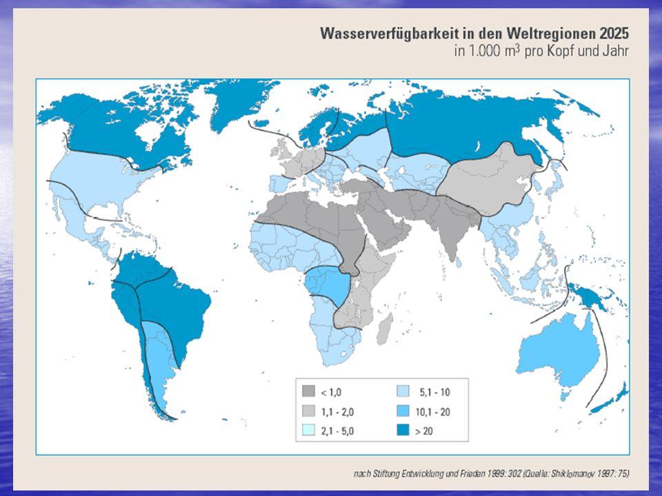 Wasserverfügbarkeit 2025