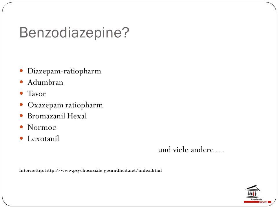 Benzodiazepine.