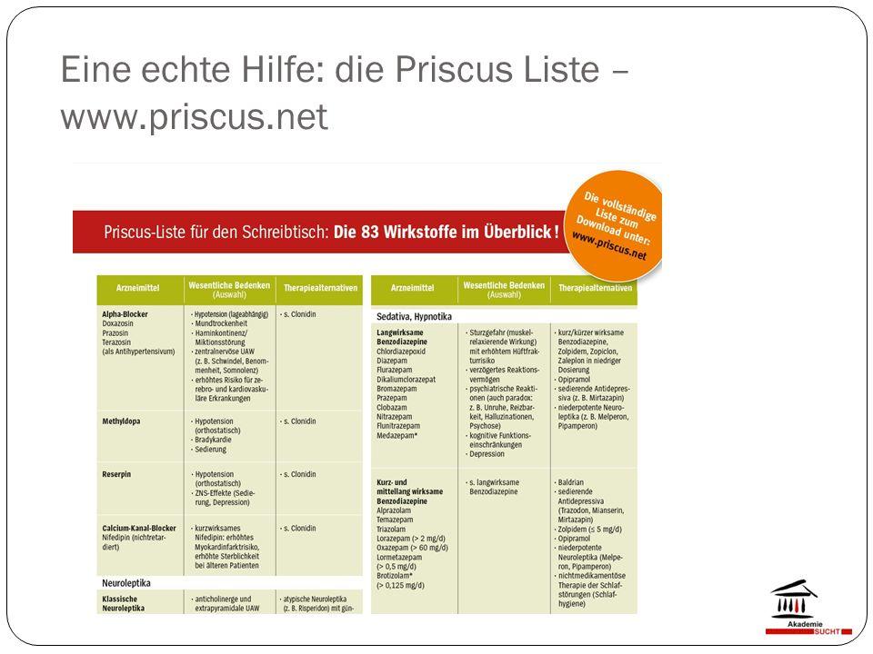 Eine echte Hilfe: die Priscus Liste – www.priscus.net