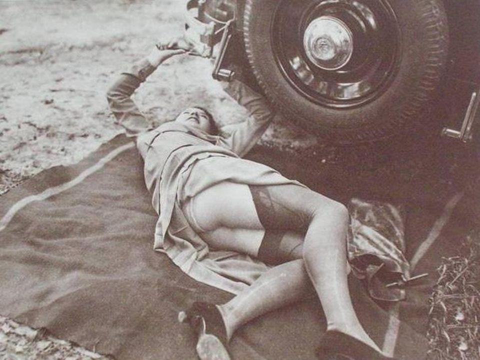Reifen-Panne