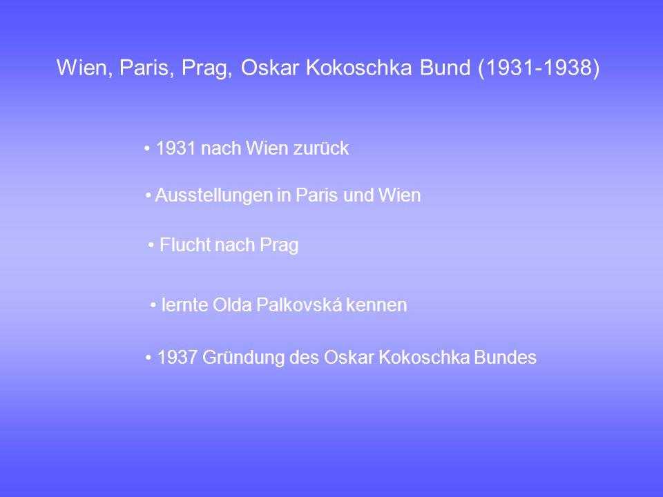 England (1938-1953) 1938 Flucht nach Großbritannien 1941 heiratete er Olda Palkovská wurde britischer Staatsbürger bis 1975 erste große Ausstellungen in Basel und Zürich