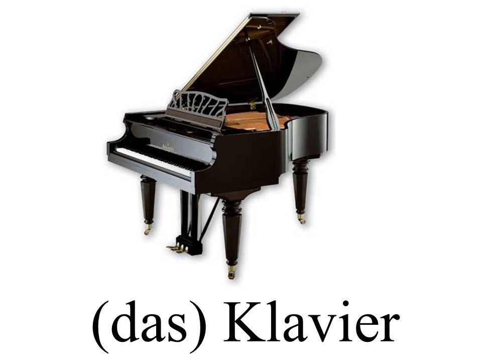 (das) Klavier