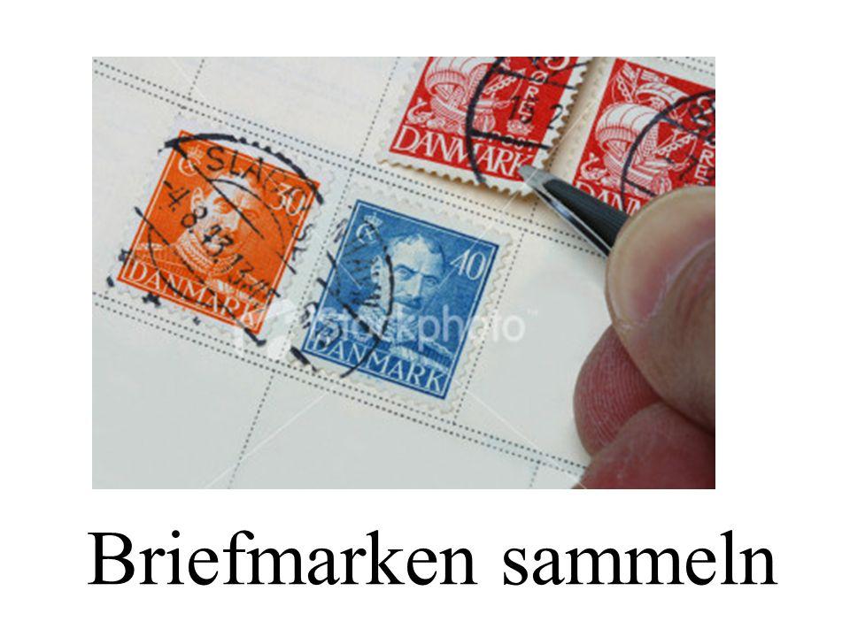 Briefmarken sammeln