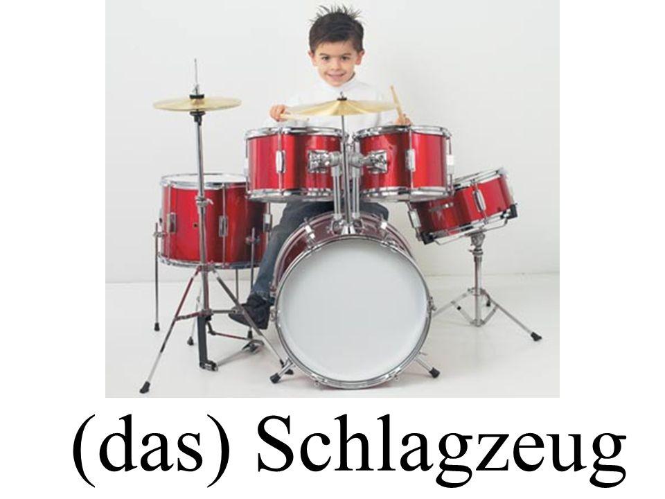 (das) Schlagzeug