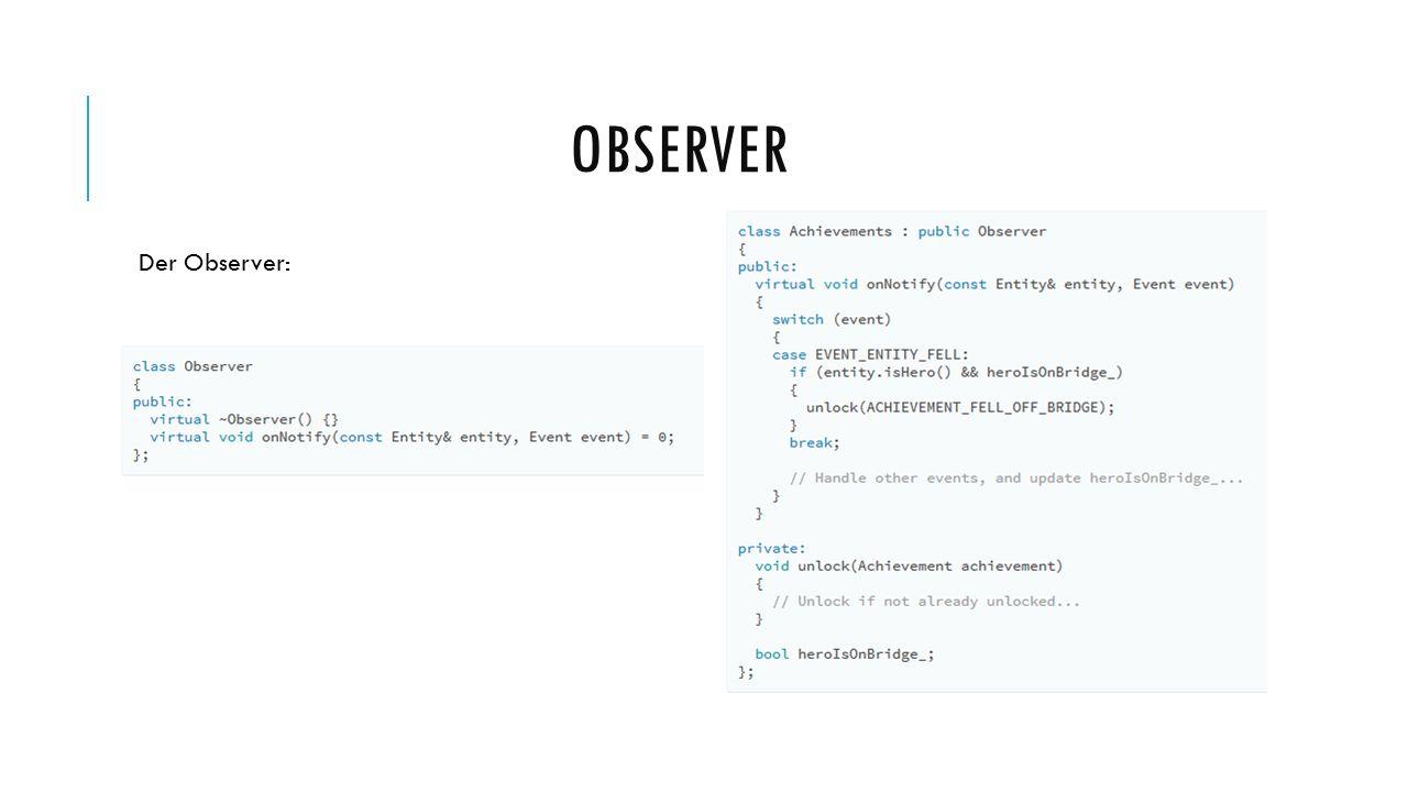 Der Observer: